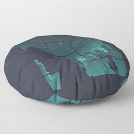 bioshock big daddy Floor Pillow