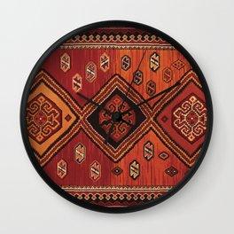 Persian Carpet Design Wall Clock