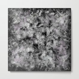 Stone grey angel Metal Print