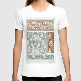 Jonquille or Jonquil from La Plante et ses Applications ornementales (1896) illustrated by Maurice P T-shirt