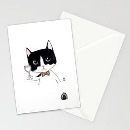 """Casimir"" by Mercredy Lunaris Stationery Cards"