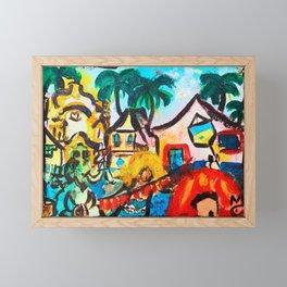 Carnaval Framed Mini Art Print