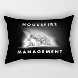 House Fire Box Logo Rectangular Pillow