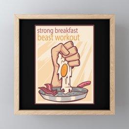 Egg Whites Matter Framed Mini Art Print