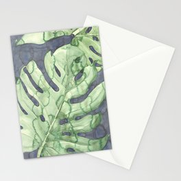 Deliciosa monstera Stationery Cards