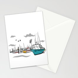 Tillamook Coast Travel Print Stationery Cards