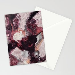 Purple red Stationery Cards