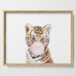 Bubble Gum Tiger Cub Serving Tray
