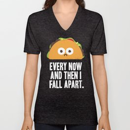Taco Eclipse of the Heart Unisex V-Neck