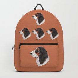 Basset hound - color Backpack