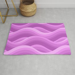 Wavy - Purple Rug