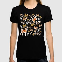 Japanese dogs T-shirt