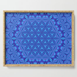 Vibrating Flower of Life Serving Tray