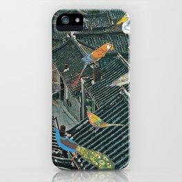 Bird Town iPhone Case