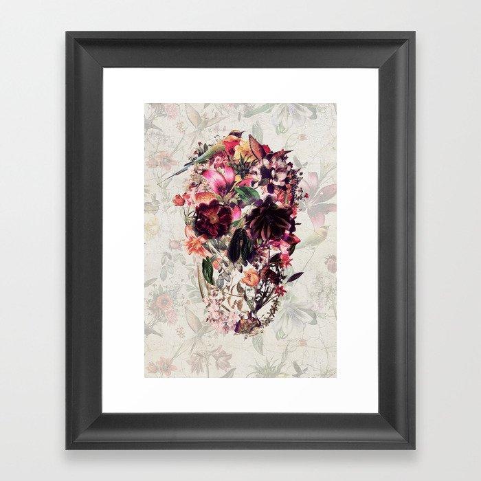 New Skull 2 Gerahmter Kunstdruck