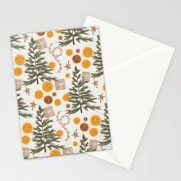 Deconstructed Christmas Tree Stationery Cards