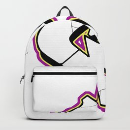 """C"" URBAN GRAFFITI STREET DESIGN Backpack"