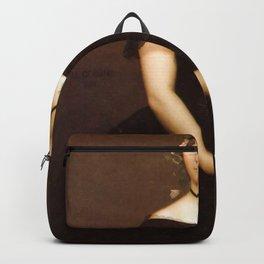 Jean-Léon Gérôme - Portrait of Mademoiselle Durand Backpack