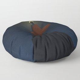 Floating Bridges Floor Pillow