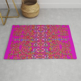 lianas of excotic in florals decorative tropical paradise style Rug
