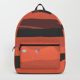 Contemporary Abstract Modern Art Minimal Texture Bold Graphic Design Background GC-117-8 Backpack