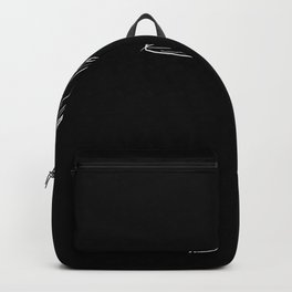 High Heels Shoe - One Line Drawing Backpack