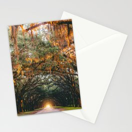 Tree Lined Road Stationery Cards