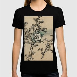 Bamboo Branches Traditional Japanese Flora T-shirt