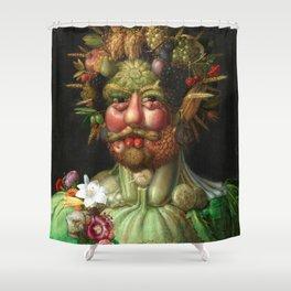 Rudolf II as Vertumnus by Giuseppe Arcimboldo, 1591 Shower Curtain