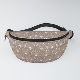 Abstract Modern Geometric Mermaid Scales Tiles Fanny Pack