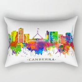 Canberra Australia Skyline Rectangular Pillow
