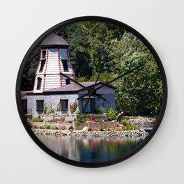 Mill Landscape Wall Clock