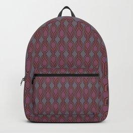 Retro-Delight - Double Drops - Plum Backpack