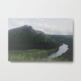River Mountain Trail - Kauai, Hawaii Metal Print