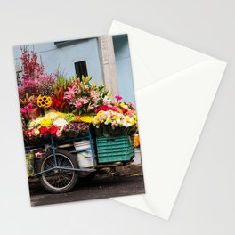 Flower Cart in Mexico City Stationery Cards