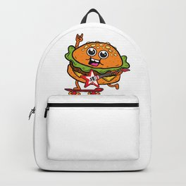 Skater Burger Rocks Backpack