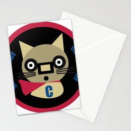 Super Cat  Stationery Cards