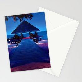 Angsana Ihuru Maldives Palapa On Pier Ultra HD Stationery Cards