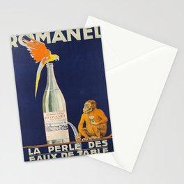 Plakat romanel la perle des eaux de table Stationery Cards