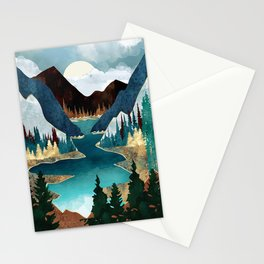 River Vista Stationery Cards