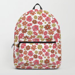 Mini Retro Flora Backpack