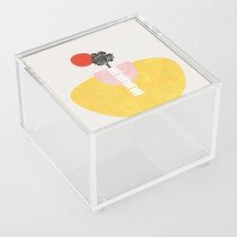 Modern shapes 5 Acrylic Box