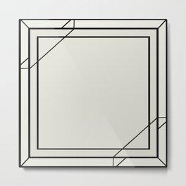 Art Deco Frame Metal Print
