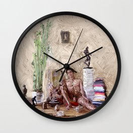 One Guy One Tea Pot Wall Clock