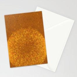 GOLDEN PATTERN I Stationery Cards