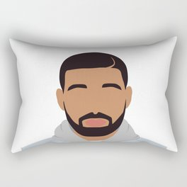 Drake Minimalist Rectangular Pillow