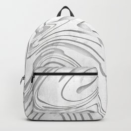 Grunge Galaxy Waves Pattern Backpack