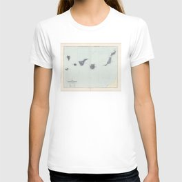 Vintage Canary Islands Map (1904) T-shirt