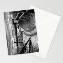 Beach Path (mono) Stationery Cards
