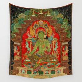 Green Tara, Tibet, 13th century Wall Tapestry